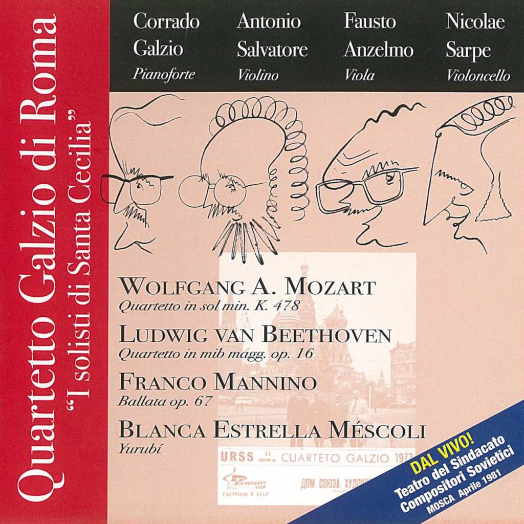 Quartetto Galzio di Roma2 (I Solisti di Santa Cecilia)